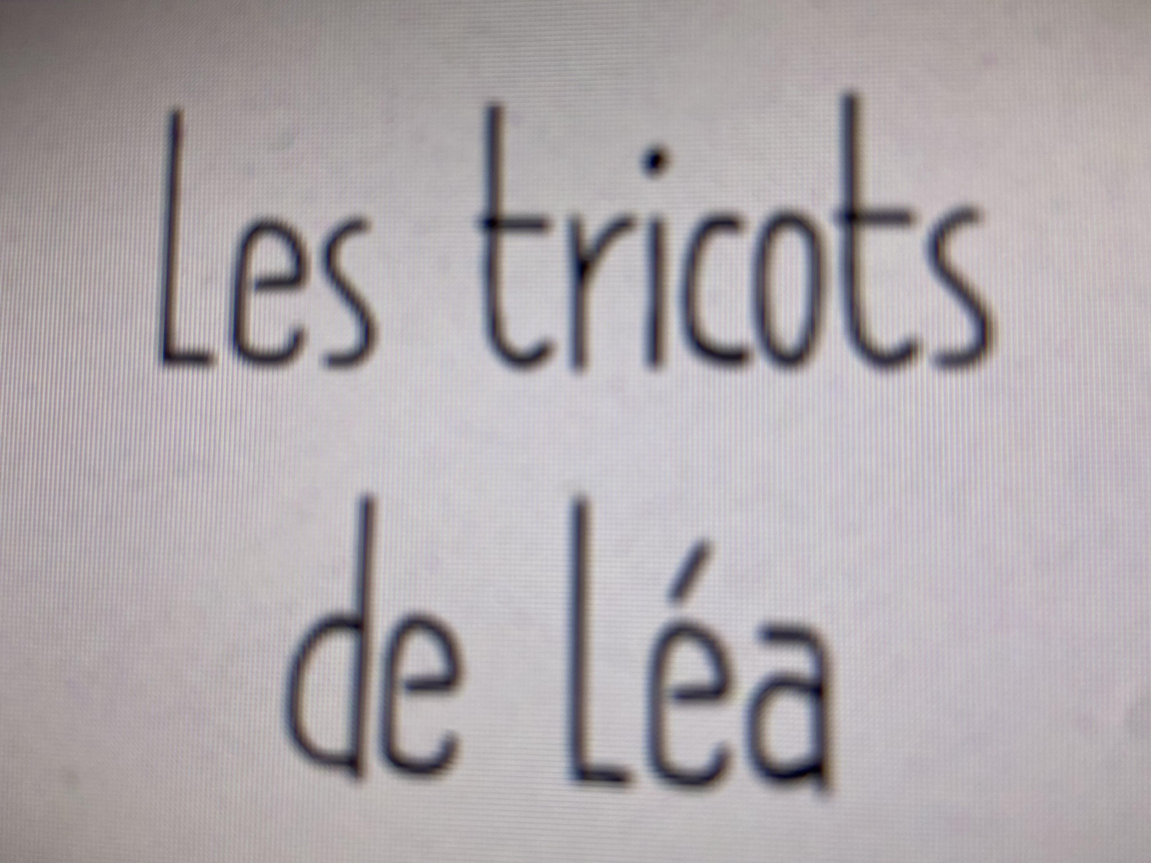 Les Tricots de Lea